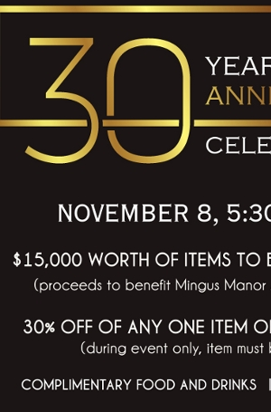 30 year anniversary party 11/8