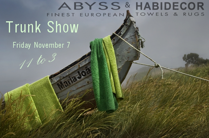 Abyss & Habidecor Trunk Show