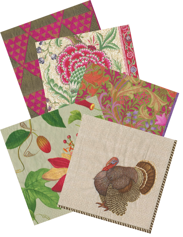 fall 2015 Tabletop patterns