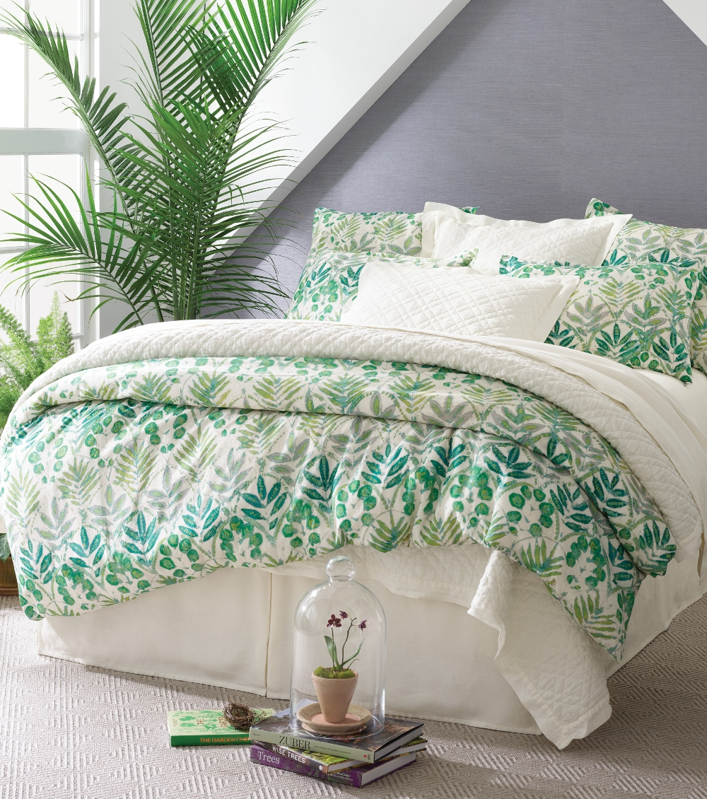 Botanical duvet by Pine Cone Hill