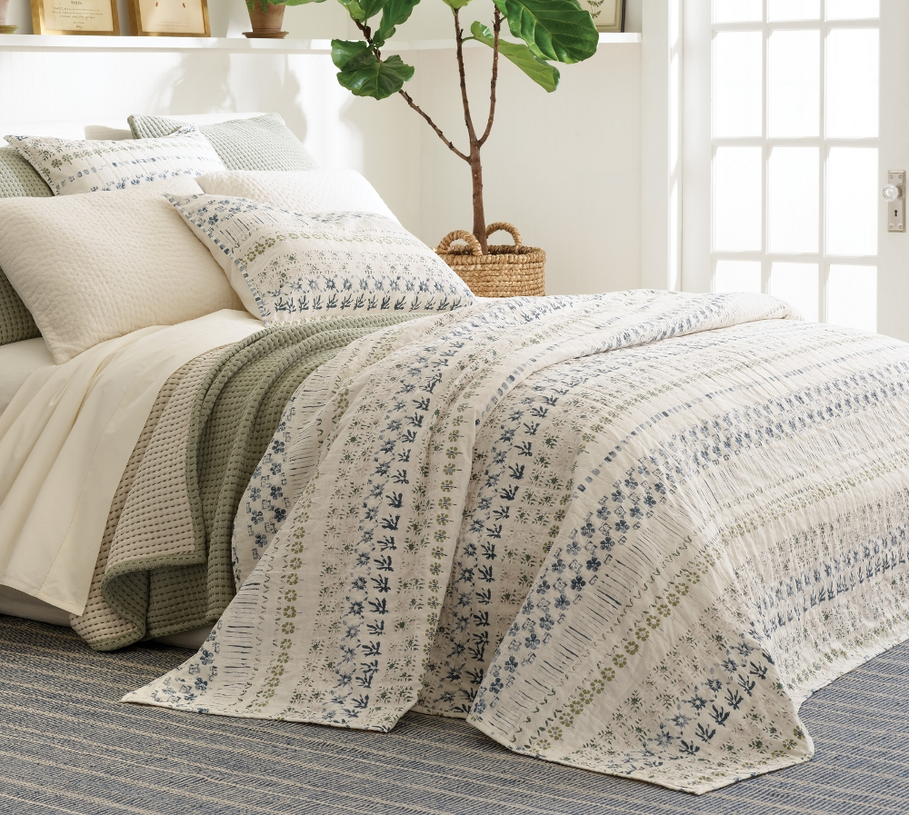 Hawthorn coverlet by Pine Cone Hill