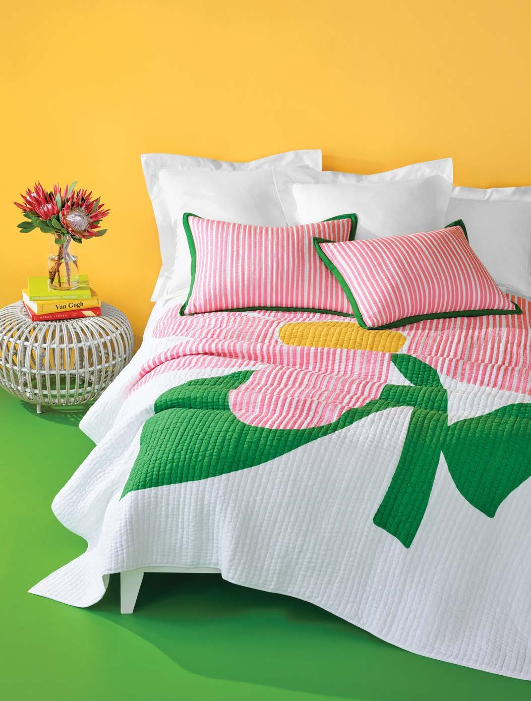 Pop Floral duvet by Pine Cone Hill