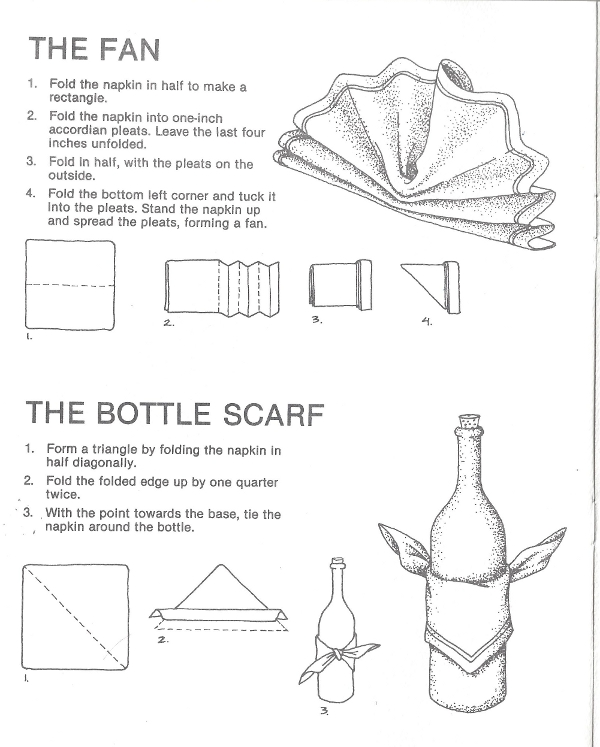 The Fan, The Bottle Scarf