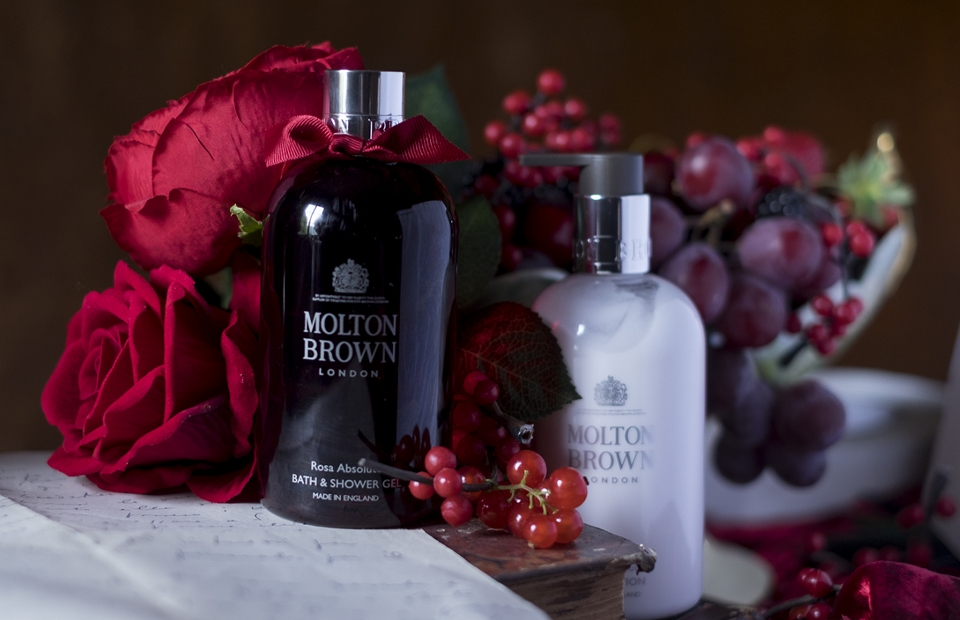 Molton Brown bath & shower gels